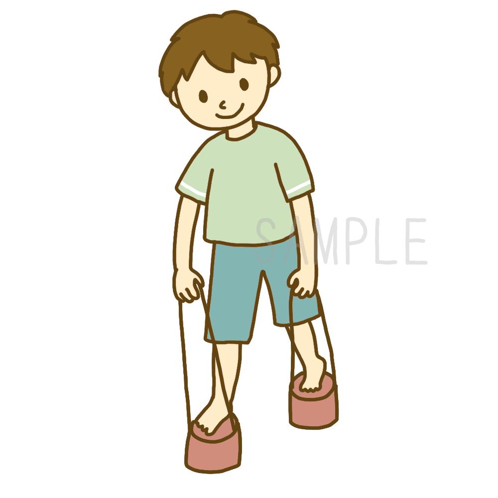 シンプルな子どものイラスト