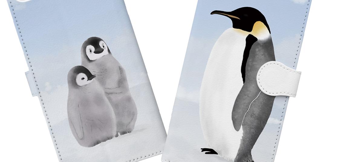 ペンギンスマホカバーtop画像