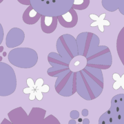 お花の塗り絵イラスト
